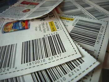 Save on your grocery bill with Coupons