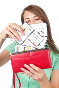 Stock up on coupons!