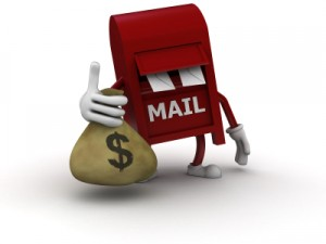 Get money in the mail!