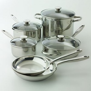 Wolfgang Puck Stainless Steel Cookware