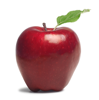 A study found that serving pre-cut sliced apples encouraged students to eat apples at lunch. This could work for your family too!