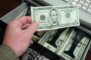 cash register money