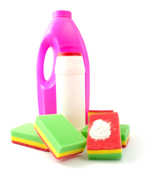 Save money by stretching out your cleaning products, making your own, and choosing reusable cleaning supplies.