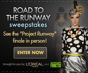 Road to the Runway Sweepstakes