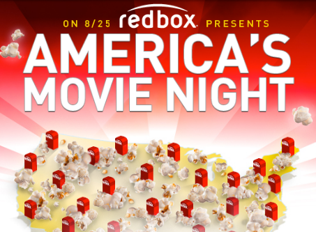 Free Redbox Code for August 25th