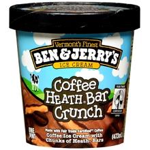 $1/2 Ben and Jerry's Ice Cream Pints