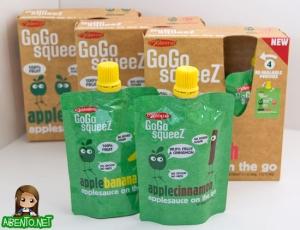 $0.75/1 GoGo Squeez Applesauce 4 Pack