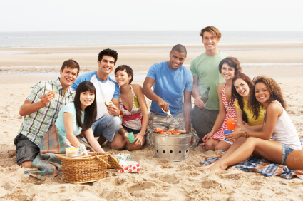 Summer is here and it's time for get-togethers! Where will your family gather on their next?  Try one of these inexpensive, but fun locations.