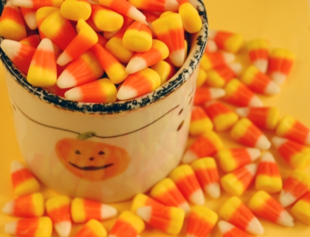 There are some Halloween treats that are gluten-free.  Read the ingredient labels for best results.  Another option is to make your own version.