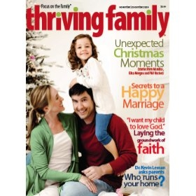 Free Subscription To Thriving Family Magazine