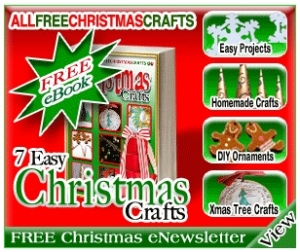 Free 7 Easy Christmas Crafts eBook