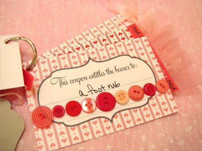 diy holiday gifts personalized coupon books