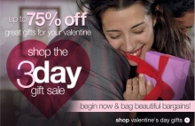 Sears' Valentine's Day Sale