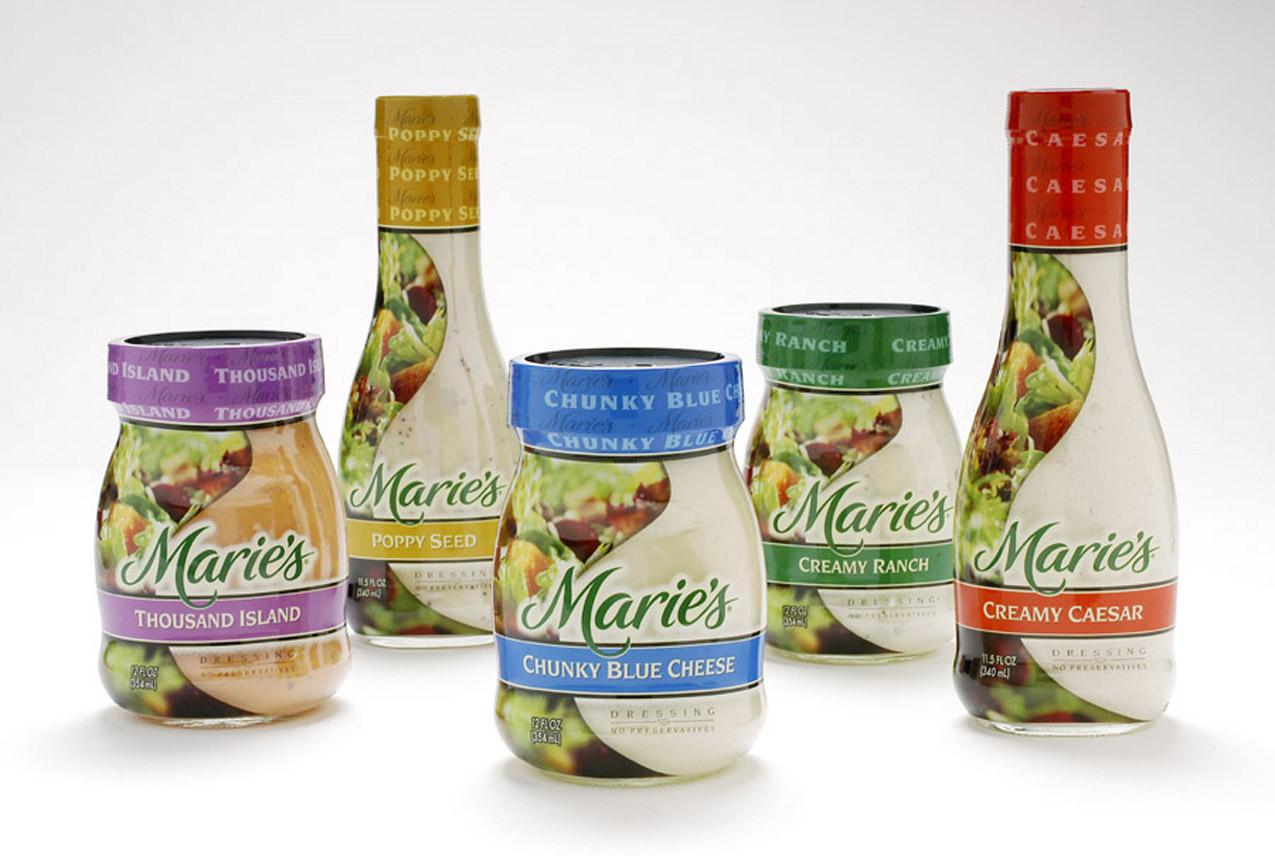 $1.25/2 Marie's Salad Dressing