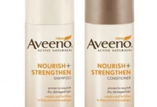 Free Aveeno Nourish and Strengthen Shampoo and Conditioner