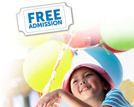 Free Family Fun Admission