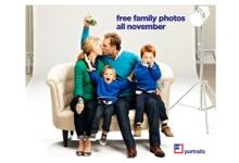 Free Family Photo in November at JCP