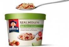 Quaker Real Medley Oatmeal