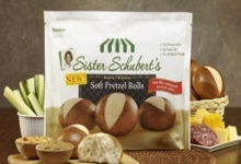 $0.75/1 Sister Schubert Pretzel Rolls or Mini Baguettes