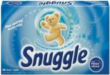 $0.50/1 Snuggle Liquid Fabric Softener or Dryer Sheets