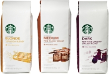 $3/2 Packages of Starbucks Coffee