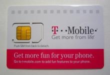 Free T-Mobile SIM Activation Starter Kit