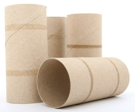 Repurpose those empty toilet paper rolls into something useful.  They also can be used in frugal kid crafts.  You won't run out of this craft supply!