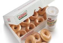 Krispy Kreme Doughntu and Coffee'