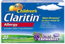 Children's Non-Drowsy Claritin Chewables