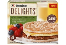 Jimmy Dean delights Flatbread sandwiches