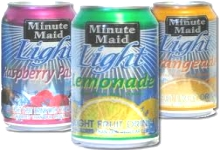 Minute Maid Cans