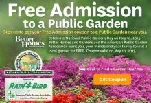 Public Garden Admission