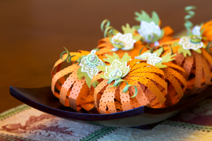 It is very simple to make your own Halloween decorations (instead of buying them). Save money with these ideas!