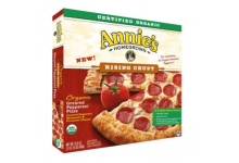 Annie's Homegrown pizza