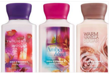 Bath and Body Works Signature Collection Travel Size Lotions