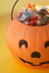 Halloween Candy Pumpkin