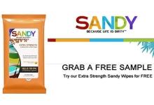 Sandy Extra Strength Multipurpose Wipes