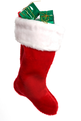 Fill your children's Christmas stockings will traditional and modern stocking stuffers.  Here are some frugal ideas of what to fill the stockings with.