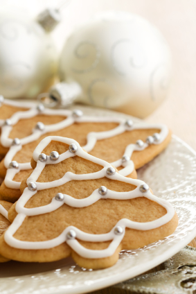 Don't blow your diet over a plate of Christmas cookies! There are simple swaps that are healthier and satisfying.