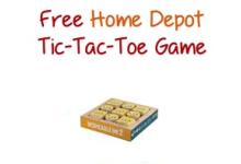 Home Depot Tic-Tac-Toe