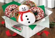 Krispy Kreme Holiday Doughnut