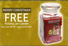 Valu Center Jar Candle