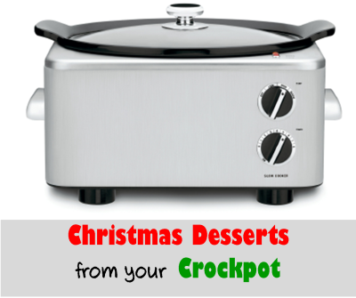Try some of these really simple Christmas desserts that you can make in your crockpot!  They are nice alternatives to Christmas cookies.