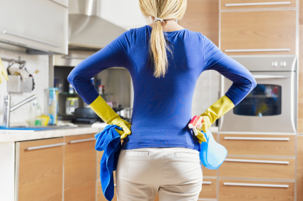 Instead of running out to the store to get specialized cleaning products, why not use what you already have in your home?
