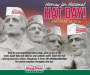 Krispy Kreme Hat Day