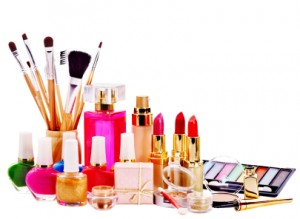 Decorative cosmetics and perfume.