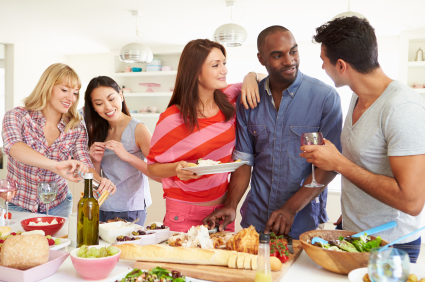 What food will you be serving at your next party?  Here are some tips for keeping the cost of food and drink within your budget.