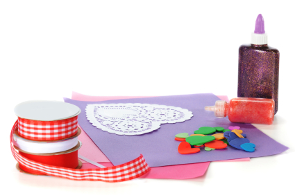 Valentines that are made by hand can be more meaningful than the mass produced valentines that you buy at the store.