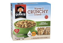 Quaker Warm and Crunchy Granola