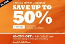 REI Winter Sale